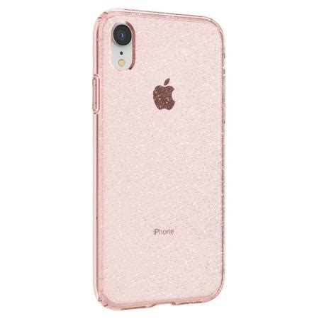 spigen liquid glitter iphone xr shell pink