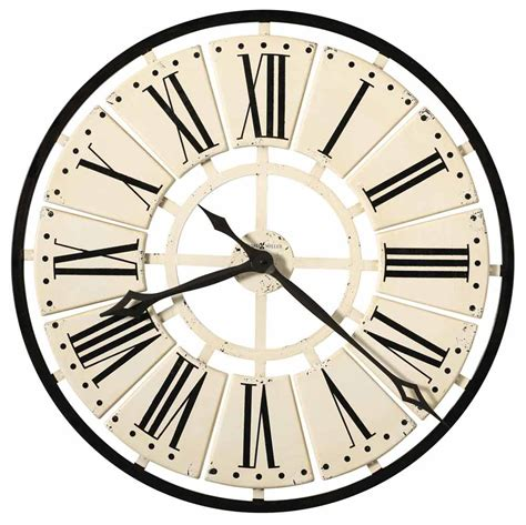 large wall clock howard miller pierre 625 546 large wall clock the clock