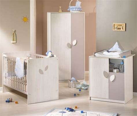 Chambre Bebe Taupe Et Blanc