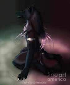 Females Wolf Boy 1 17t black wolf anthro black wolves