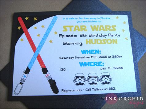 wars birthday invitations templates free free printable wars birthday invitations