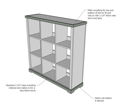 how to build a cubby bookcase bookcase storage cubby unit white easy diy projects