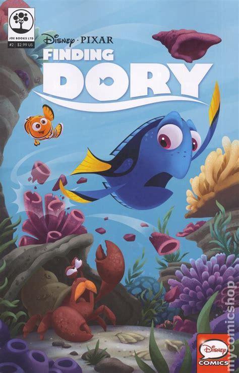 Disney Pixar Finding Dory Paint Palette Book disney pixar finding dory 2016 comic books