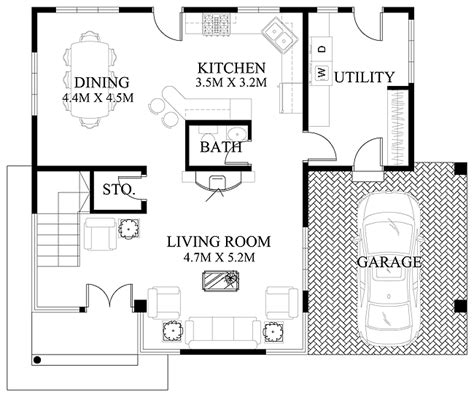 ground floor house plans cheap remodelling garden at