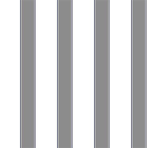 grey navy wallpaper zb3418 dark gray navy on white 1 75 inch awning stripe