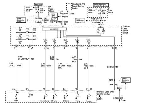 2008 Gmc Denali Truck Wiring Diagram Need Transfer Case