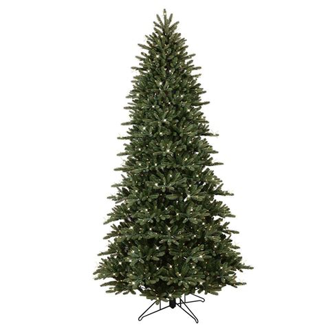 ge christmas tree lights ge 9 ft pre lit led just cut frasier fir artificial