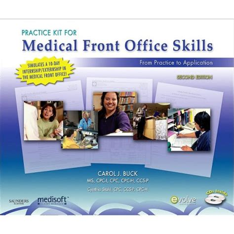ebook practice kit for medical front office skills with