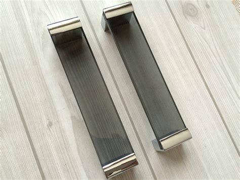 black pull handles kitchen cabinets 6 3 black glass drawer pull handles kitchen cabinet door