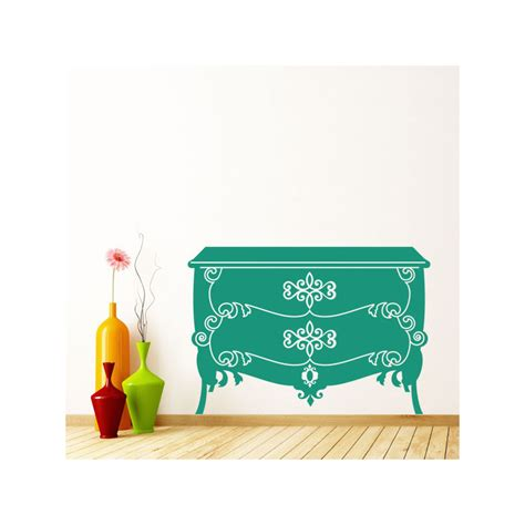 Stickers Pour Commode by Sticker Commode Baroque