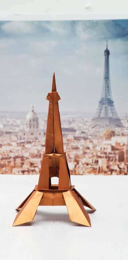 Origami Tower - origami city fold more than 30 global landmarks origami
