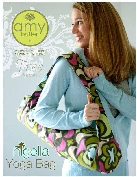 yoga mat pattern amy butler free yoga mat bag sewing patterns