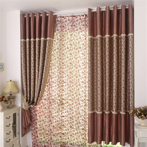 Plaid Curtains For Living Room Plaid Curtains Window Treatments Best Home Design 2018