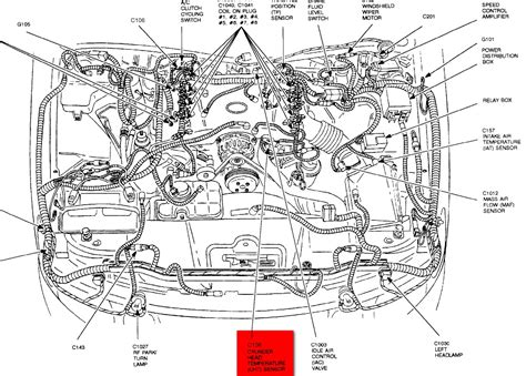 1998 lincoln town car engine diagram where is the engine temperature sensor located on a 1998