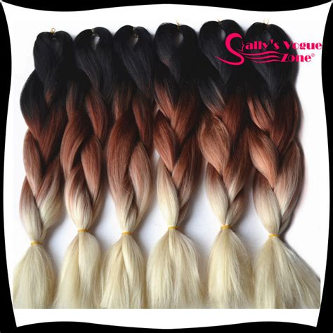 ombre braiding hair compare prices on ombre kanekalon braiding hair online