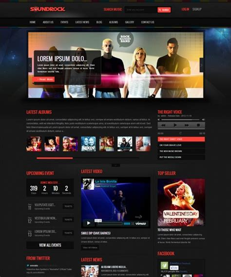 35 excellent dark wordpress themes want your website to