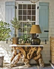 home interior accents driftwood furniture reclaimed wood home decor