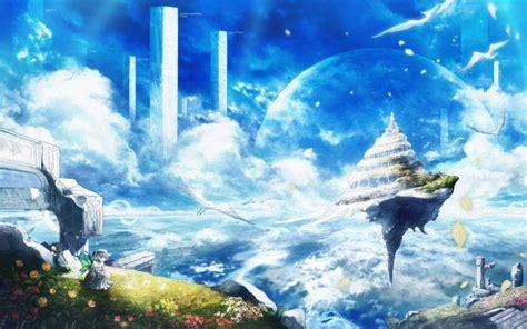 imagenes de paisajes anime paisajes animes anime amino
