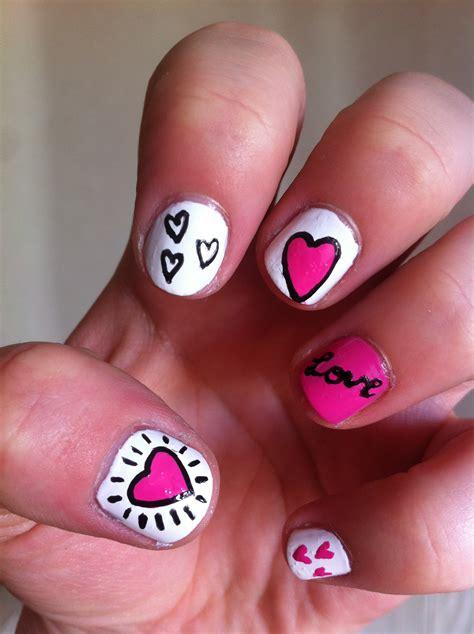 imagenes de uñas decoradas san valentin tutorial u 241 as con corazones especial san valent 237 n
