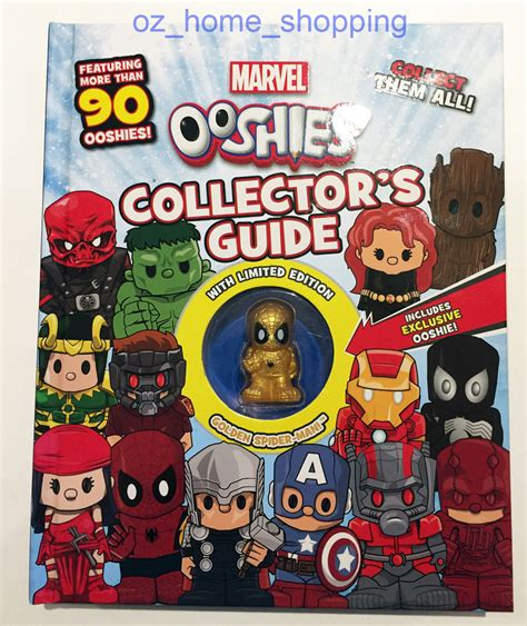 ebay uk books limited edition golden spiderman ooshies marvel collectors
