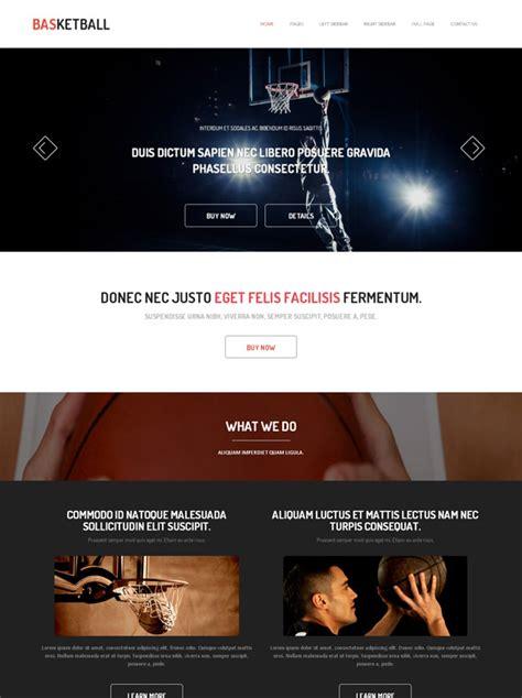 International Basketball Website Template Basketball Sports Dreamtemplate Basketball Team Website Template