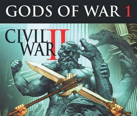 libro civil war ii civil war ii gods of war 2016 1 comics marvel com