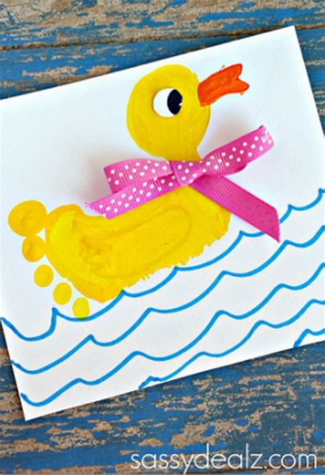 crafts using handprints 25 and beautiful handprint footprint crafts for your