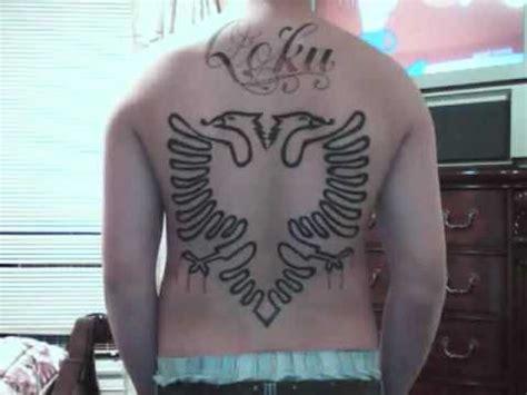 albanian eagle tattoo albanian eagle