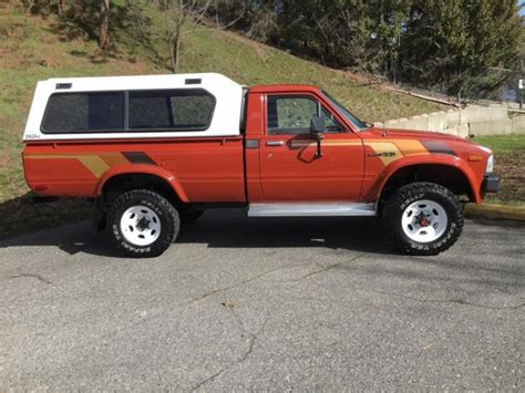 1983 Toyota Hilux For Sale 1983 Toyota 4x4 Hilux Bed In Great Shape No