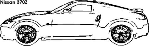 370z Coloring Page by Compare Nissan 370z Vs Chevrolet Camaro