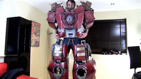 iron man hulkbuster cosplay walking james bruton