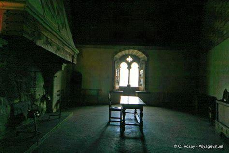 dark room  chillon castle switzerland