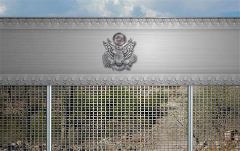 the unlikely design for s border wall from
