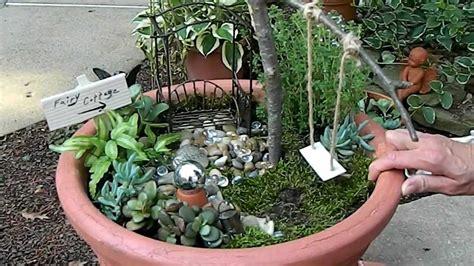 Garden How To Make How To Create A Dollhouse Garden
