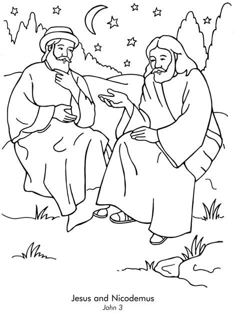 Jesus Loves Everyone Coloring Page | Kids Quest Crafts