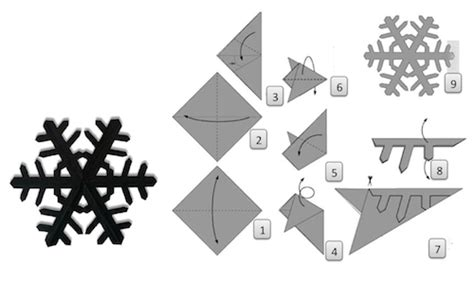 How To Make 3d Snowflakes Out Of Construction Paper - cut some digital snowflakes these holidays