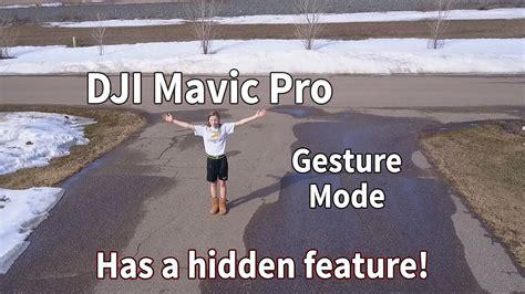 mavic pro  beginners gesture mode   secret