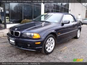 orient blue metallic 2001 bmw 3 series 325i convertible
