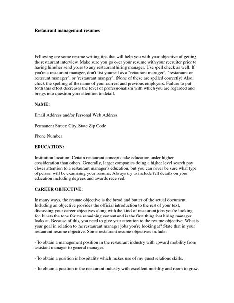 Sle Resume Brand Executive sle resume product manager 28 images material
