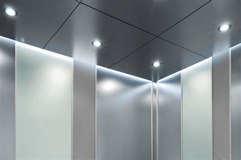 Elevator Lighting Fixtures Levele 108 Elevator Interiors Allied Metal
