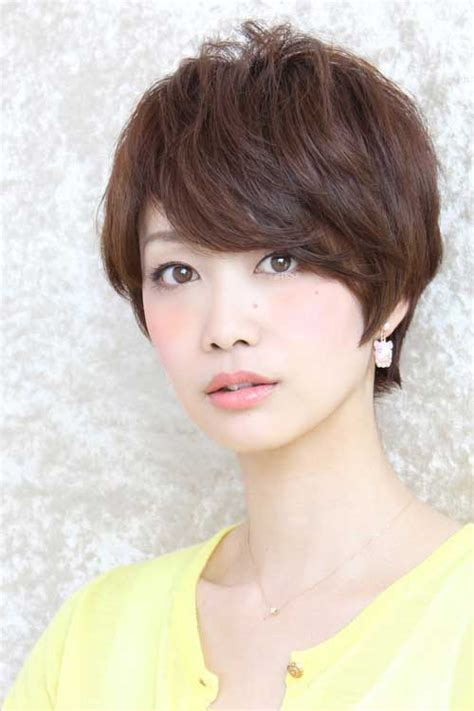 short cut with chinese bang 15 prominent asian short hairstyles for women hairstyle
