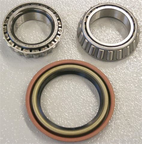 Bering Rotary hub rotor bearing install kit timken bearings broncograveyard