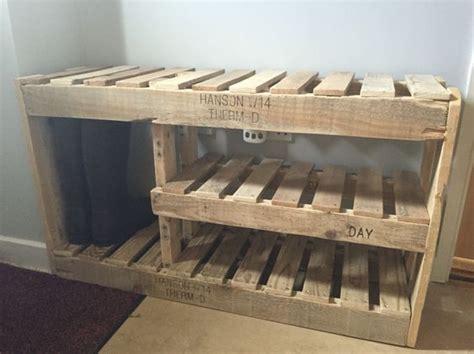 diy shoe rack wood 22 diy shoe storage ideas for small spaces shoe rack