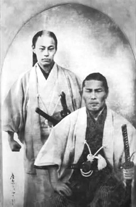 Kondo IsamI (right) and Soji Okita (left) of the