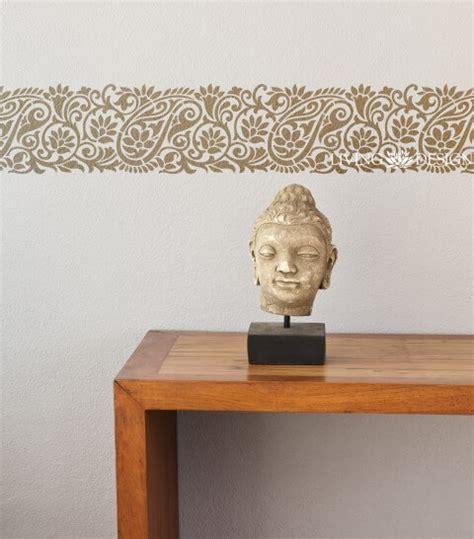 cenefas para pintar paredes plantilla decorativa cenefa para pintar y decorar paredes