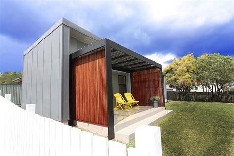 Designer Granny Flats Newcastle   from $99k: Backspace Living