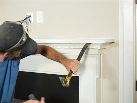 How To Remove A Fireplace Mantel low cost high impact fireplace remodel ideas home