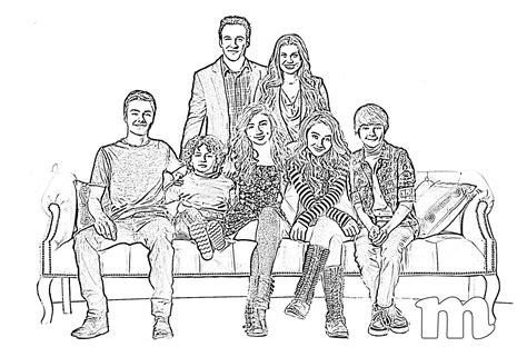 coloring page girl meets world boy meets world free coloring pages