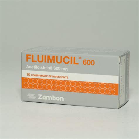 Fluimucil 600 Mg fluimucil 600 mg 10 comprimate efervescente catena
