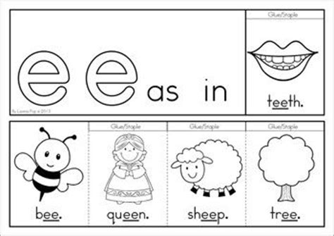 printable alphabet jive ee vowel digraph games activities worksheets vowel
